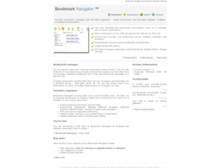 bookmarknavigator.com screenshot