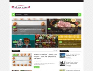 bookmarkocean.com screenshot