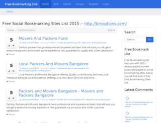 bookmarkown.asia screenshot