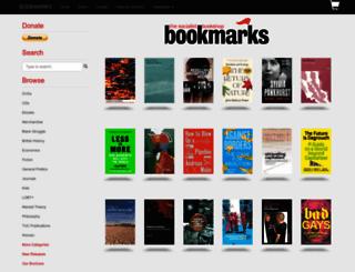 bookmarksbookshop.co.uk screenshot
