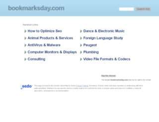 bookmarksday.com screenshot