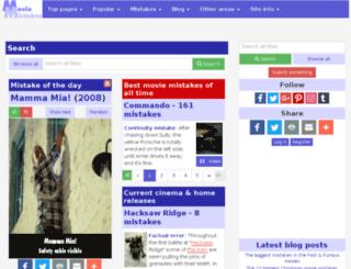 bookmistakes.com screenshot