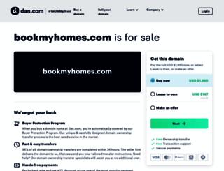 bookmyhomes.com screenshot
