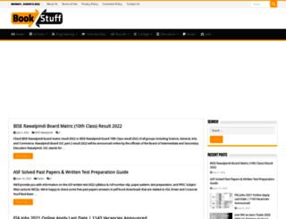 booknstuff.com screenshot