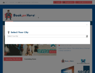 bookonhere.com screenshot