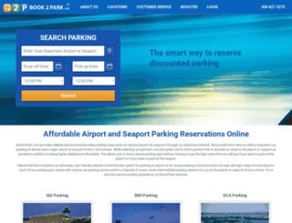 bookparkfly.com screenshot