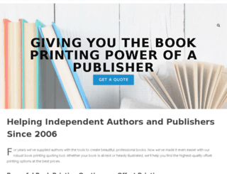 bookprintingrevolution.com screenshot