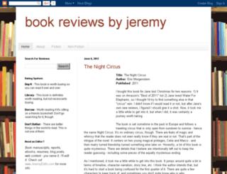 bookreviewsbyjeremy.com screenshot