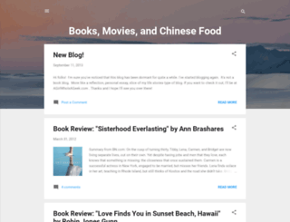 books-movies-chinesefood.blogspot.com screenshot