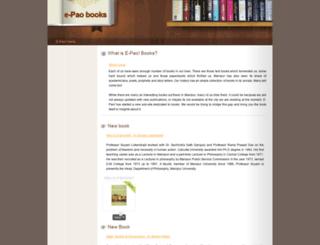 books.e-pao.net screenshot