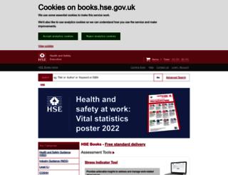 books.hse.gov.uk screenshot