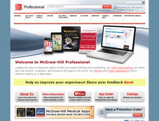 books.mcgraw-hill.com screenshot