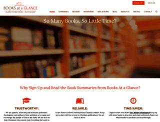booksataglance.com screenshot