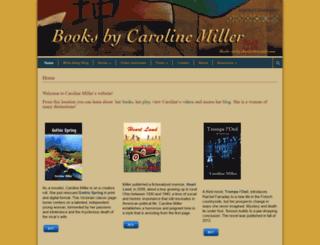 booksbycarolinemiller.com screenshot