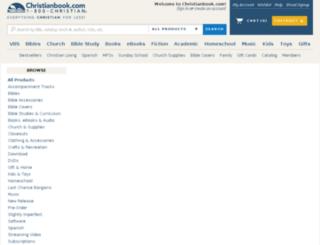 bookschristian.com screenshot