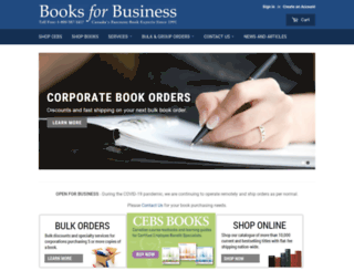 booksforbusiness.com screenshot
