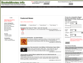 booksmovies.info screenshot