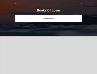 booksofloser.blogspot.com screenshot