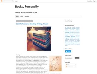 bookspersonally.blogspot.com screenshot