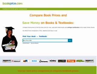 booksprice.com screenshot