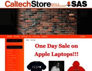 bookstore.caltech.edu screenshot