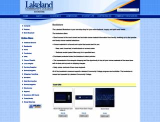 bookstore.lakelandcc.edu screenshot