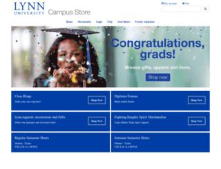 bookstore.lynn.edu screenshot