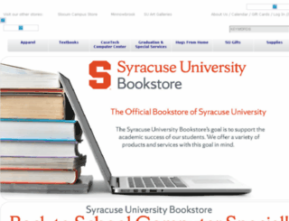 bookstore.syr.edu screenshot