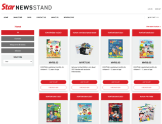 bookstore.thestar.com.my screenshot