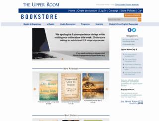 bookstore.upperroom.org screenshot