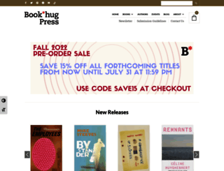 bookthug.ca screenshot