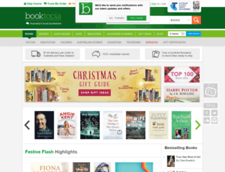 booktopia.com.au screenshot