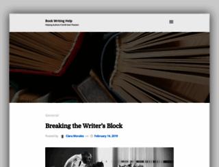 bookwritinghelp.com screenshot