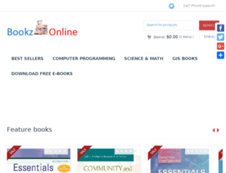 bookzonline.com screenshot