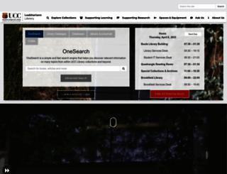 booleweb.ucc.ie screenshot