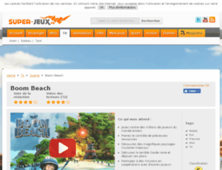 boom-beach.browsergames.fr screenshot