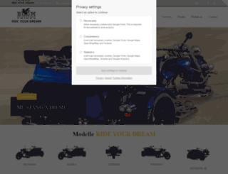 boom-trikes.com screenshot
