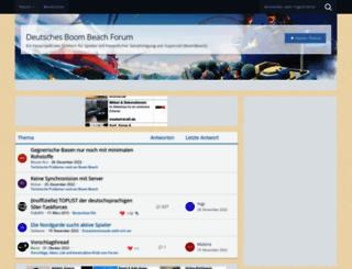 boombeachforum.de screenshot