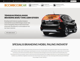 boomboomcar.com screenshot