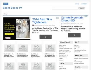 boomboomtv.com screenshot