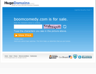 boomcomedy.com screenshot