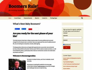 boomerageonline.com screenshot