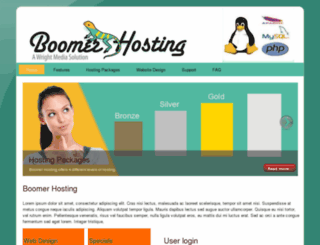 boomerhosting.com screenshot