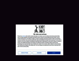 boomfestival.org screenshot