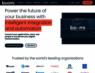 boomi.com screenshot