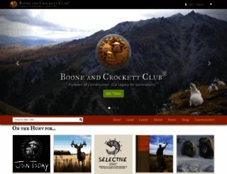 boone-crockett.org screenshot
