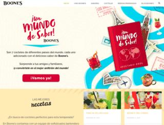 boones.mx screenshot