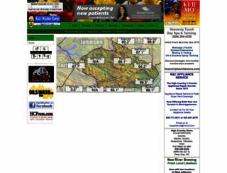 booneweather.com screenshot