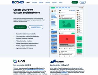 boonex.com screenshot
