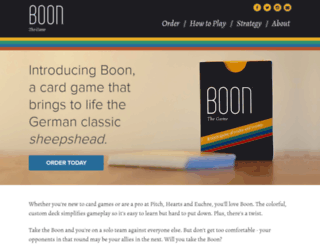 boonthegame.com screenshot